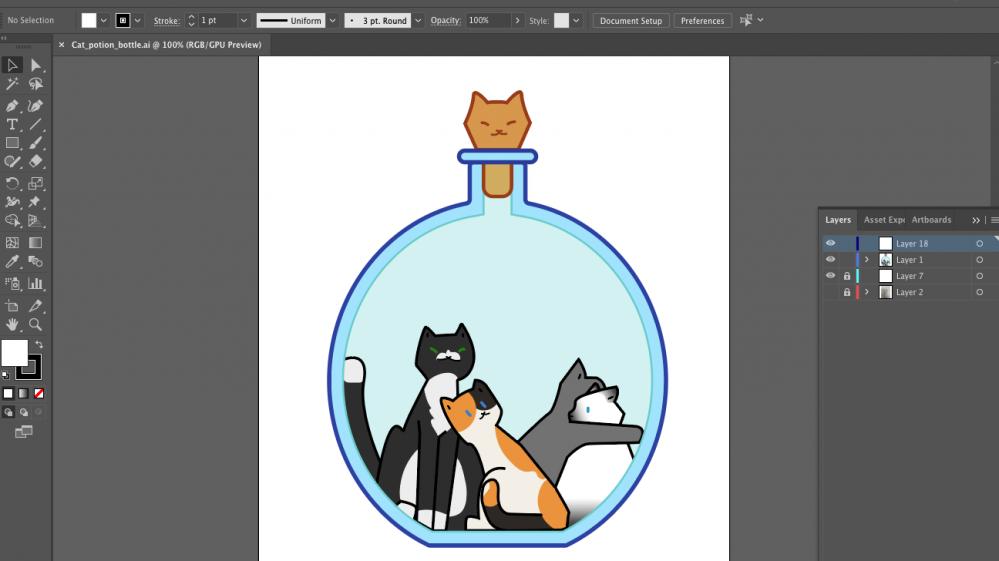 Creating my t-shirt design with Illustrator