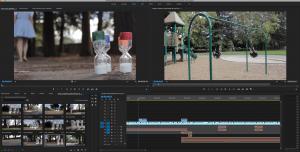 Adobe Premiere Screenshot Experimental Film