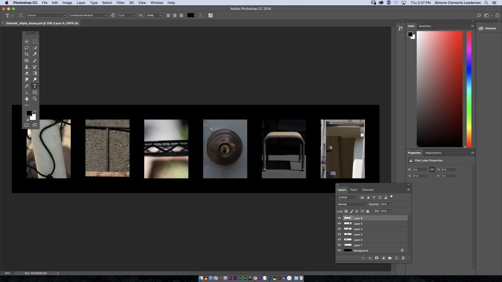 screenshot of photoshop interface