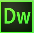 This shows the icon for Dreamweaver